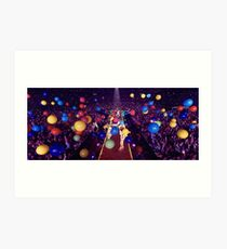 Coldplay - A Head Full Of Dreams tour Art Print