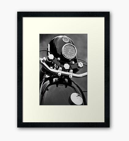 Velocette 500 Thruxton Framed Print