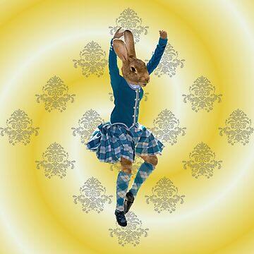 Highland Dancer by oconnart