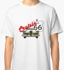 Cruisin' the Mother Road - US Route 66 Classic T-Shirt