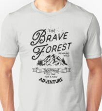 Brave Forest Hiker T-Shirt