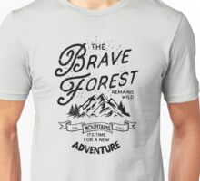 Brave Forest Hiker Unisex T-Shirt