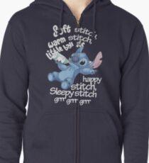 Soft Kitty - Stitch Zipped Hoodie