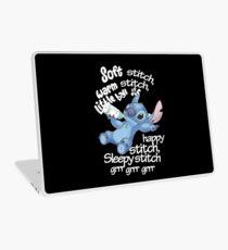 Soft Kitty - Stitch Laptop Skin