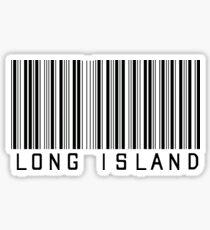 Long Island Barcode  Sticker