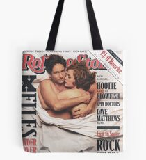 The X-Files 1996 Rolling Stone Cover Tote Bag