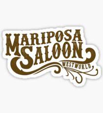 Mariposa Saloon Sticker