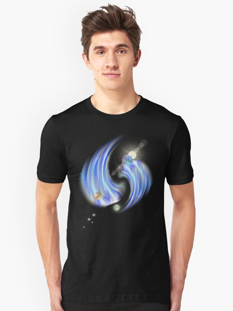 new galaxy1 Unisex T-Shirt Front