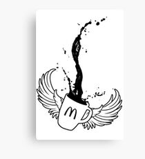 Mcdonalds coffee tribute Canvas Print