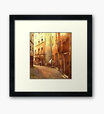 A Moment in Rome Framed Print