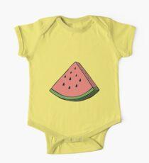 Pop Art Watermelon One Piece - Short Sleeve