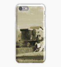 Vintage Combine Harvester  iPhone Case/Skin