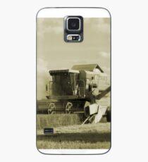 Vintage Combine Harvester  Case/Skin for Samsung Galaxy
