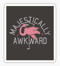 Magestically Awkward Sticker