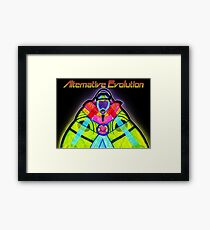 Alternative Evolution Framed Print