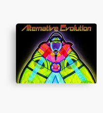 Alternative Evolution Canvas Print