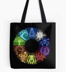 Grunge Guild Wheel Tote Bag
