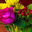 Colorful Bouquet by George Lenz