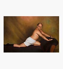 Seinfeld George Costanza Timeless Art of Seduction painting Photographic Print