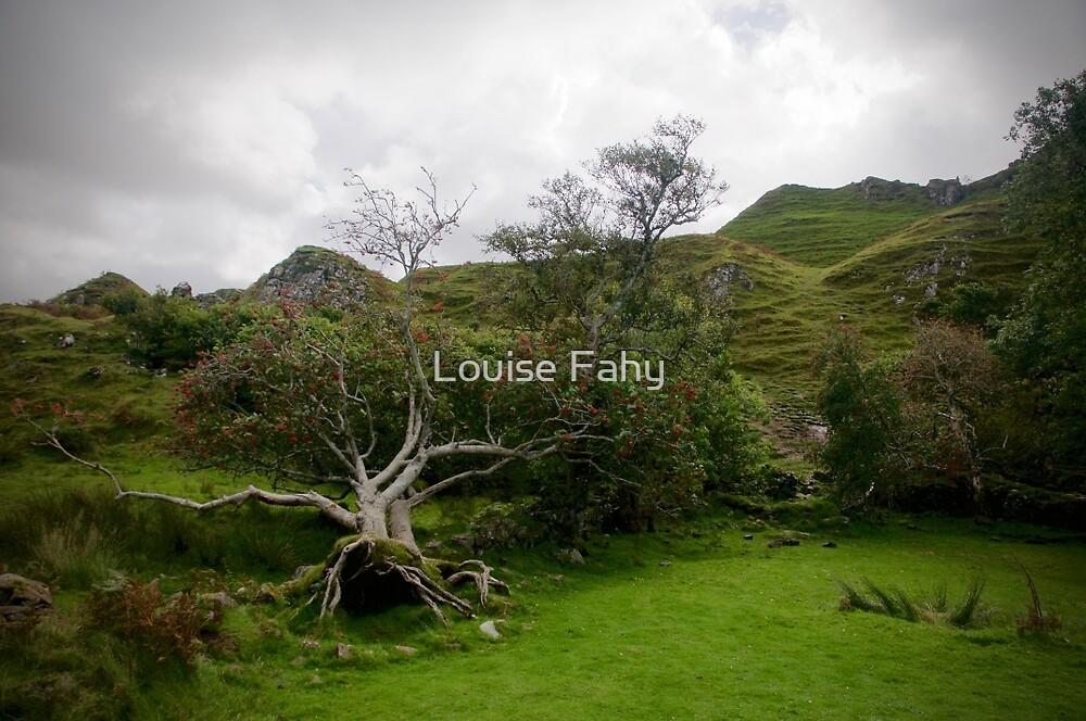 Fairy Glen Isle of Skye Scotland by Louise Fahy