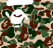 BAPE Camo Sticker