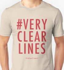 ALT #Very Clear Lines Unisex T-Shirt