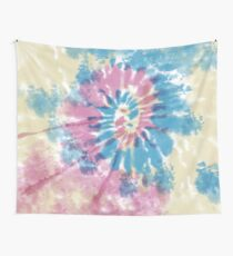 Spiral Surf Wall Tapestry