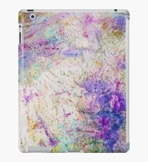 Funky abstract colorful ink design iPad Case/Skin