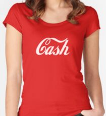 Jack White - Cash Women's Fitted Scoop T-Shirt