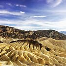 Death Valley Zabriskie Point by ilovetheunknown