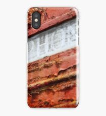 Old Red iPhone Case/Skin