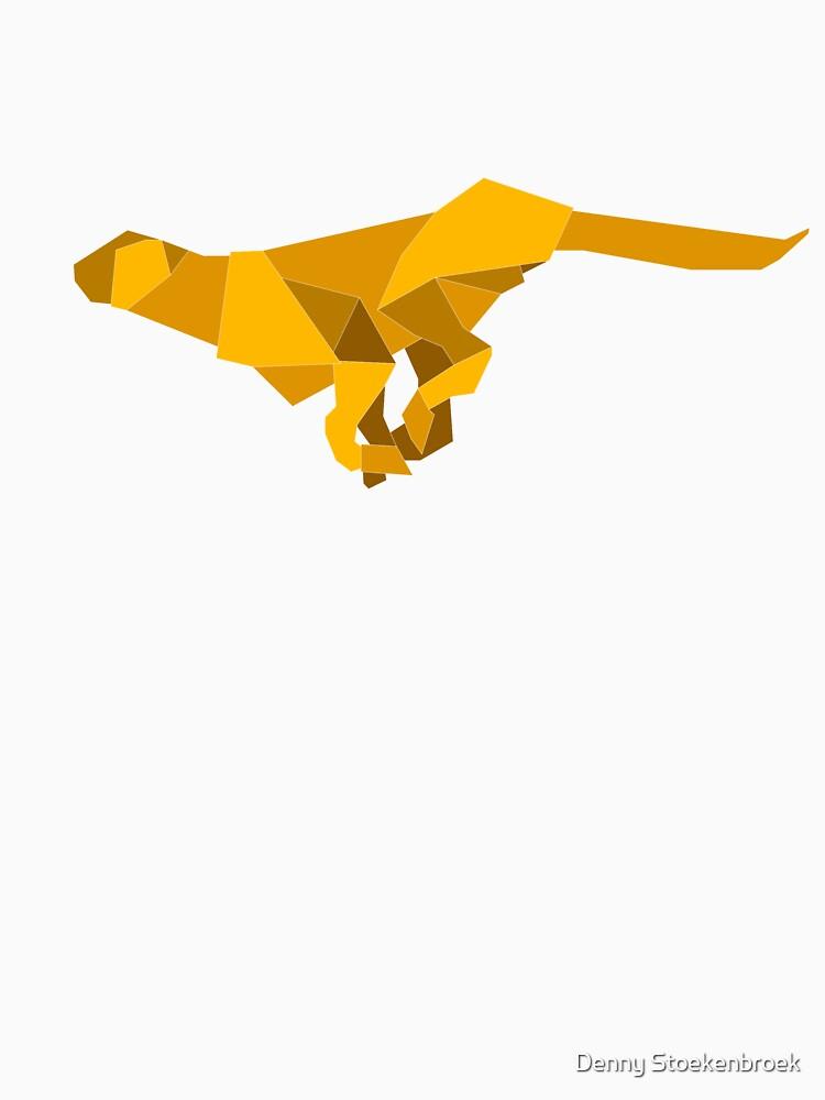 Origami Made Running Cheetah By Stoekenbroek