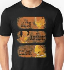 The Alien, the Android & the Demon T-Shirt
