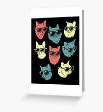 Cat Shirt Greeting Card