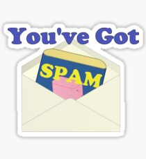 You've Got Spam Sticker