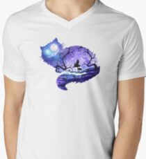 We are all mad here V-Neck T-Shirt
