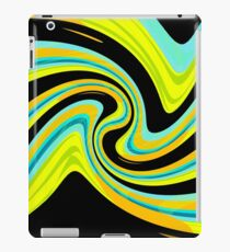 Blue and yellow  iPad Case/Skin