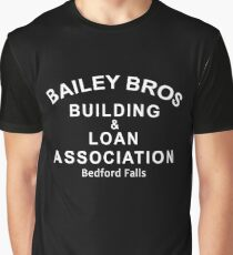 Bailey Bros Building and Loan Graphic T-Shirt