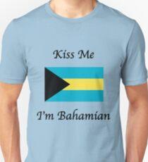 Kiss Me I'm Bahamian T-Shirt