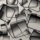 Square Bubbles by Printpix