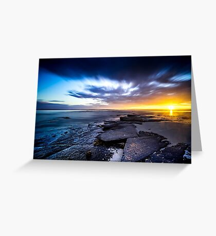 Cabbage Tree Beach - Jervis Bay Greeting Card