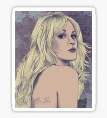 Carrie Underwood Portrait A Sticker