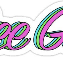 Dee Gee Retro Sticker