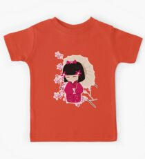 Sakura Kokeshi Doll Kids Clothes