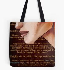 Blue and Beautiful Tote Bag