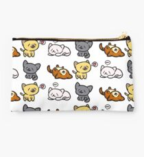Happy Kitties Studio Pouch