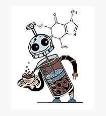 Coffee Bot Photographic Print
