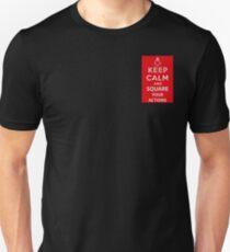 Keep Calm Masons Unisex T-Shirt