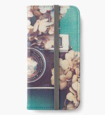 Camera & Hydrangea iPhone Wallet/Case/Skin