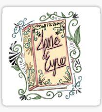 #classicbeauties 1 - Jane Eyre Sticker